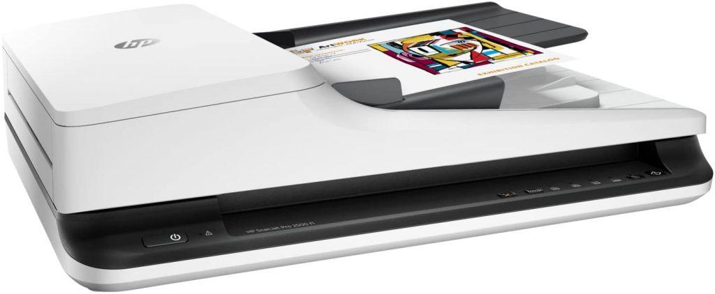 HP ScanJet Pro 2500 f1 - Escáner de Superficie Plana de HP