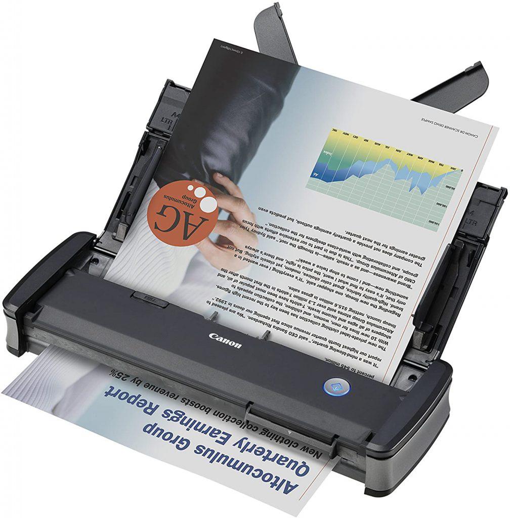 Escáner de documentos Canon imageFORMULA P-215II
