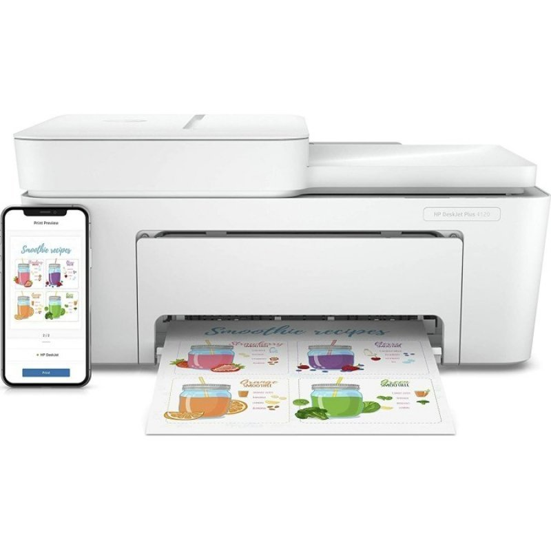 hp deskjet plus 4120 multifuncion color wifi movil