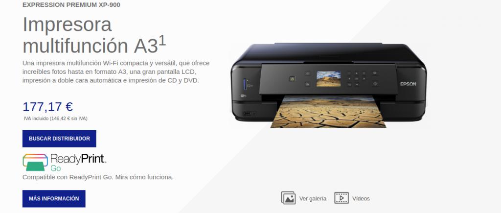 Precio Expression Premium XP-900