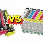 Qué es mejor multifuncion láser o tinta
