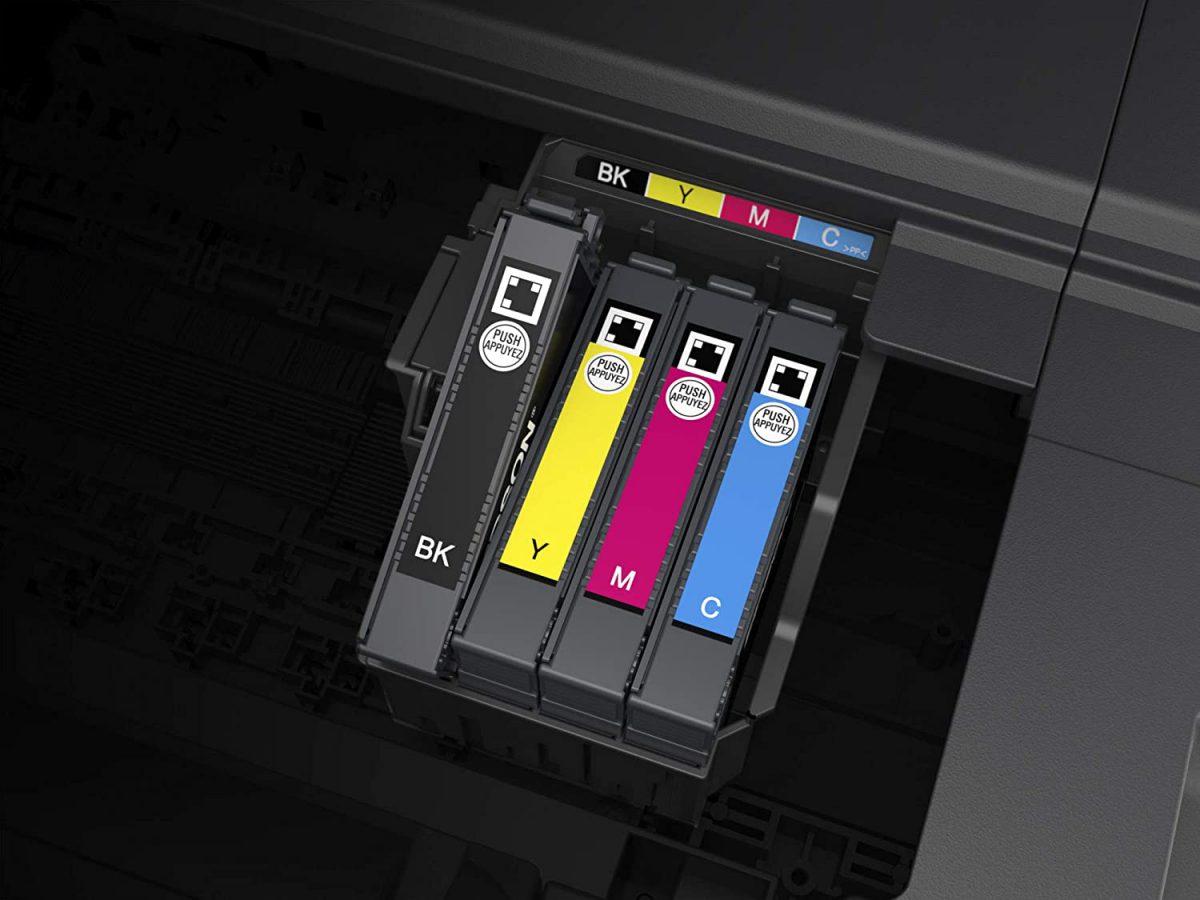 cambiar cartuchos en impresora Epson
