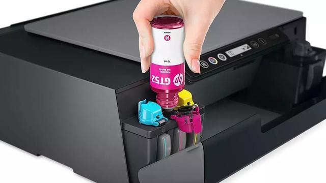 como rellenar impresora HP Smart Tank
