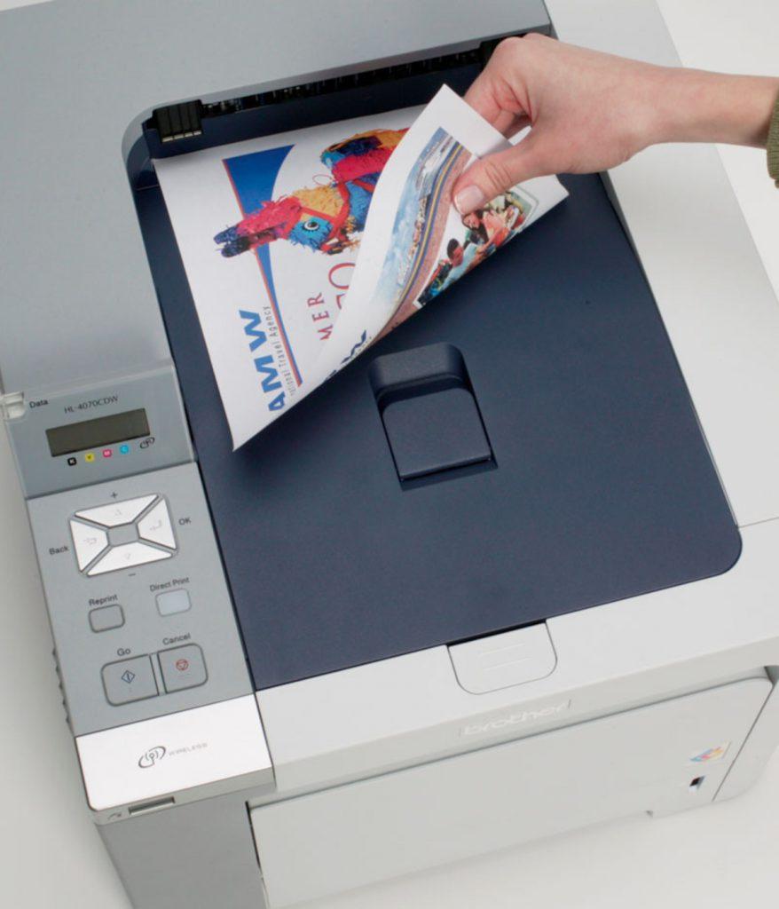 Impresora duplex