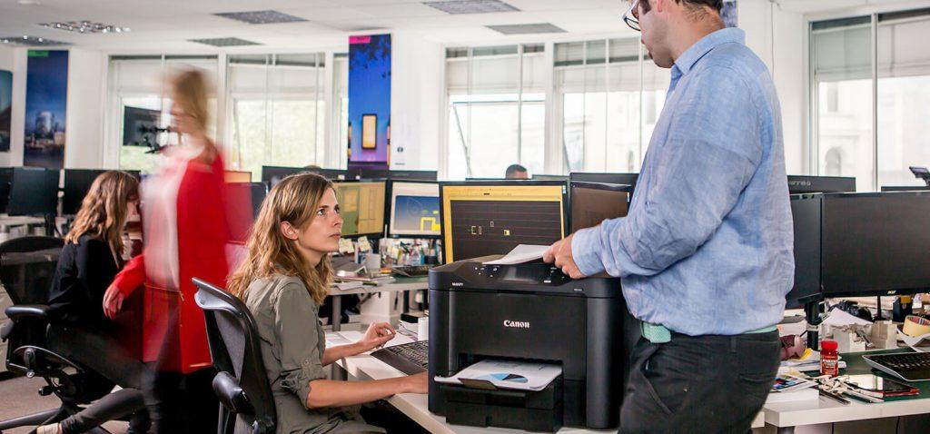 Impresora para oficina mediana