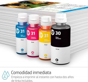 hp smart tank wireless 455 tinta