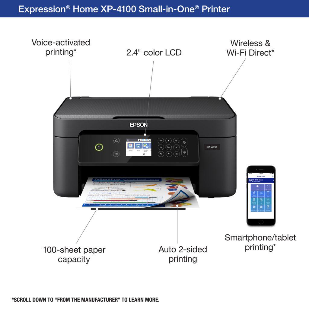 Epson Expression XP-4100 caracteristicas