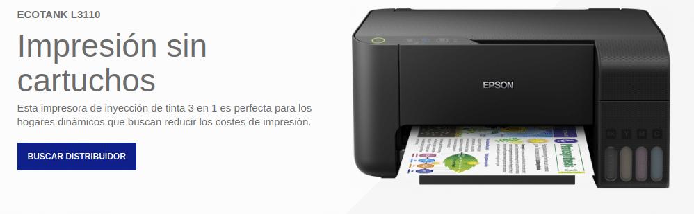 Precio EcoTank L3110
