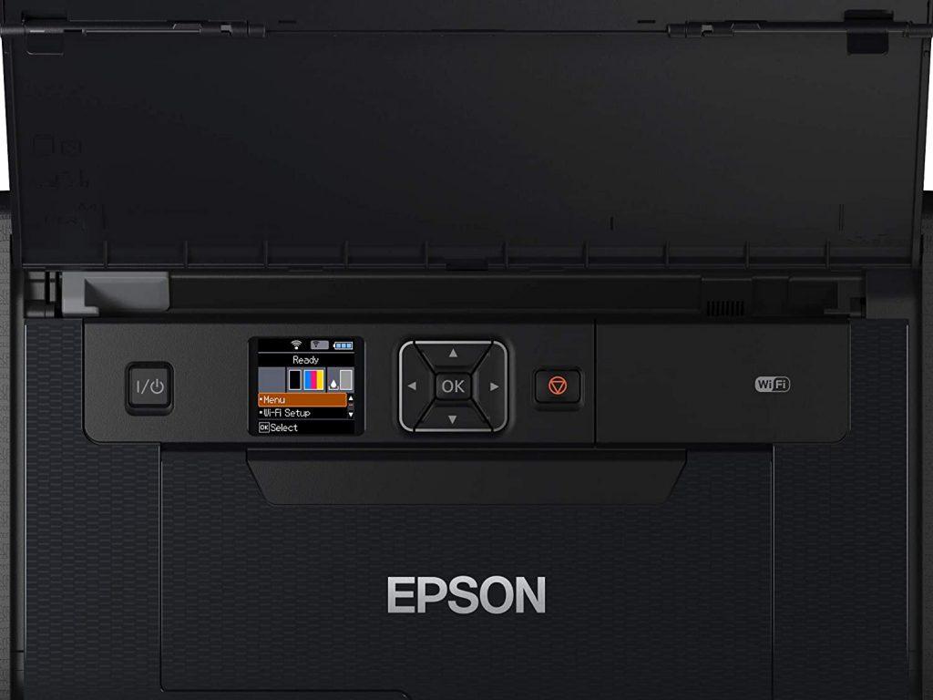 epson workforce wf-110w pantalla lcd
