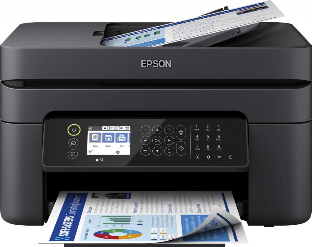 epson workforce wf-2850dwf escaner duplex ADF