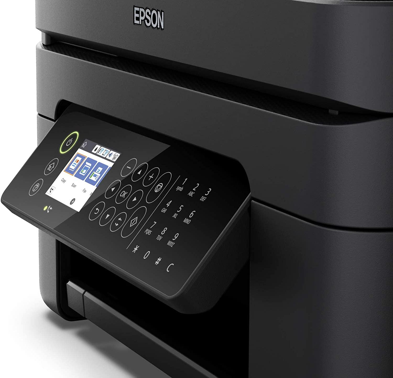 Epson  wf-2850dwf pantalla lcd