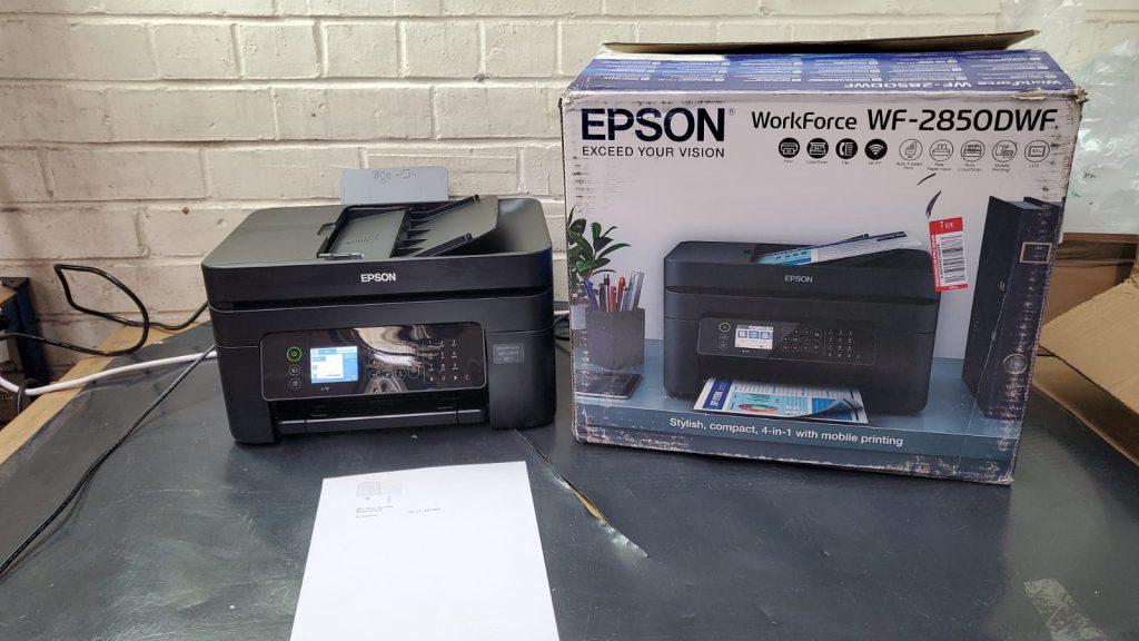Impresora Epson workforce wf-2850dwf análisis