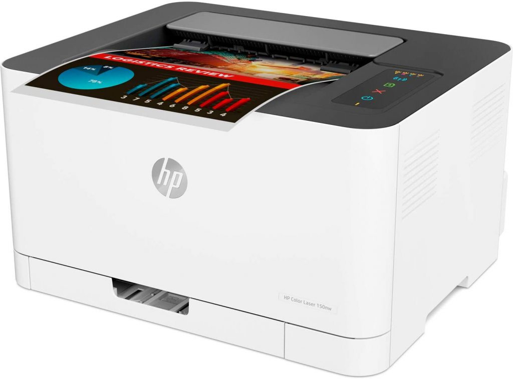 HP Color Laser 150nw compacta