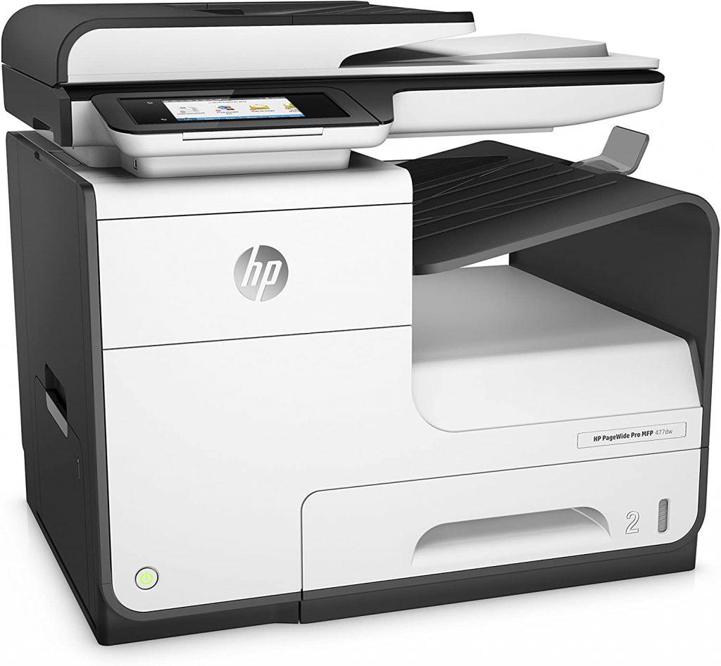 Impresora multifunción a color PageWide Pro 477dw de HP