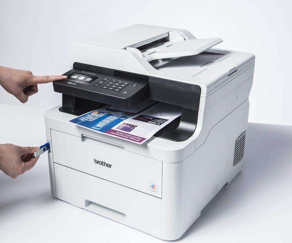 impresora Brother MFC-L3750CDW imprimir desde usb
