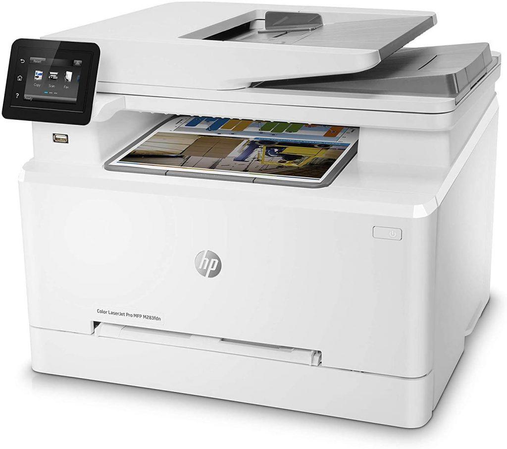 HP LaserJet Pro MFP M283FDW laser color