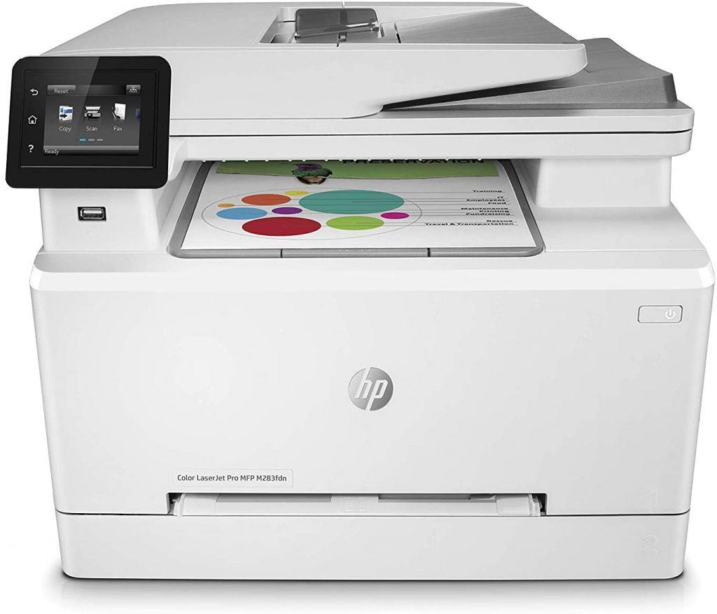 HP LaserJet Pro MFP M283FDW laser multifuncion a color