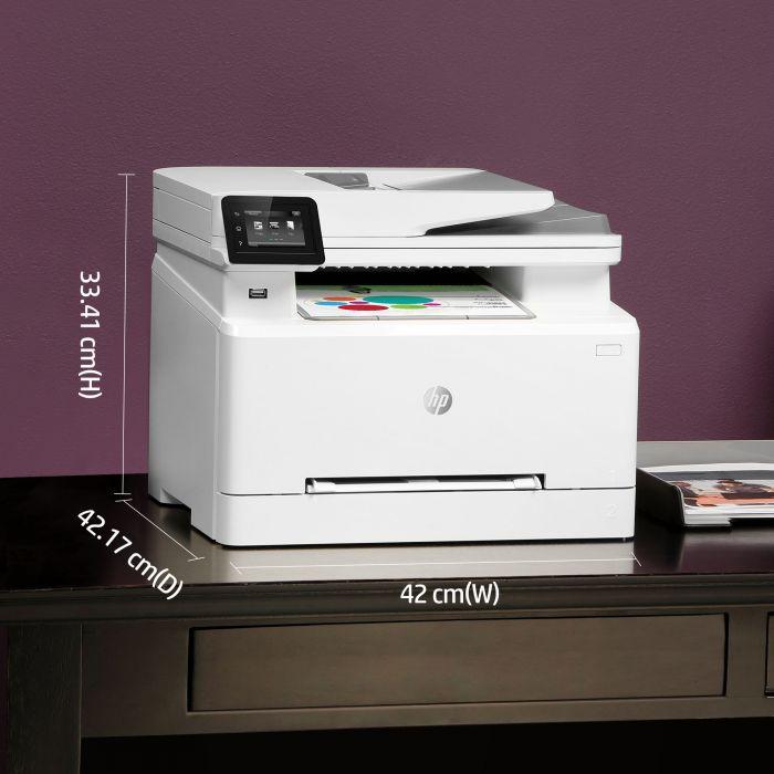 HP LaserJet Pro MFP M283FDW medidas