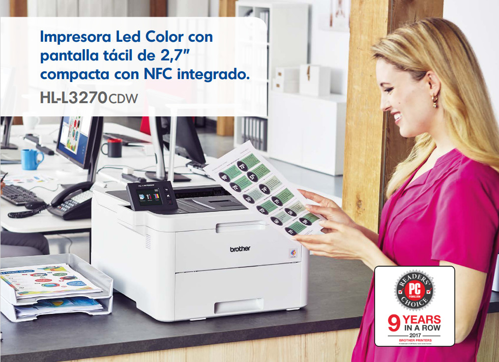 brother hl-l3270cdw caracteristicas