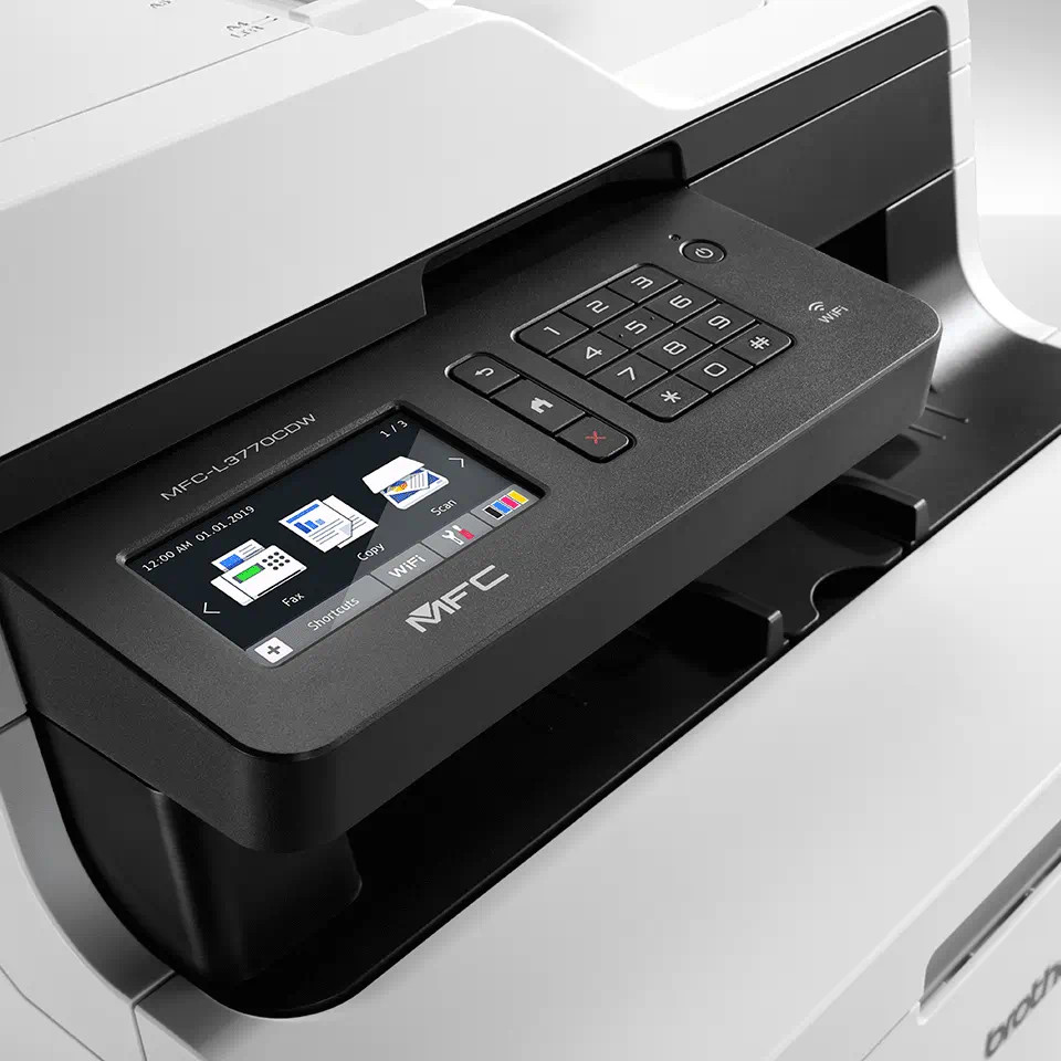 brother mfcl3770cdw pantalla lcd tactil