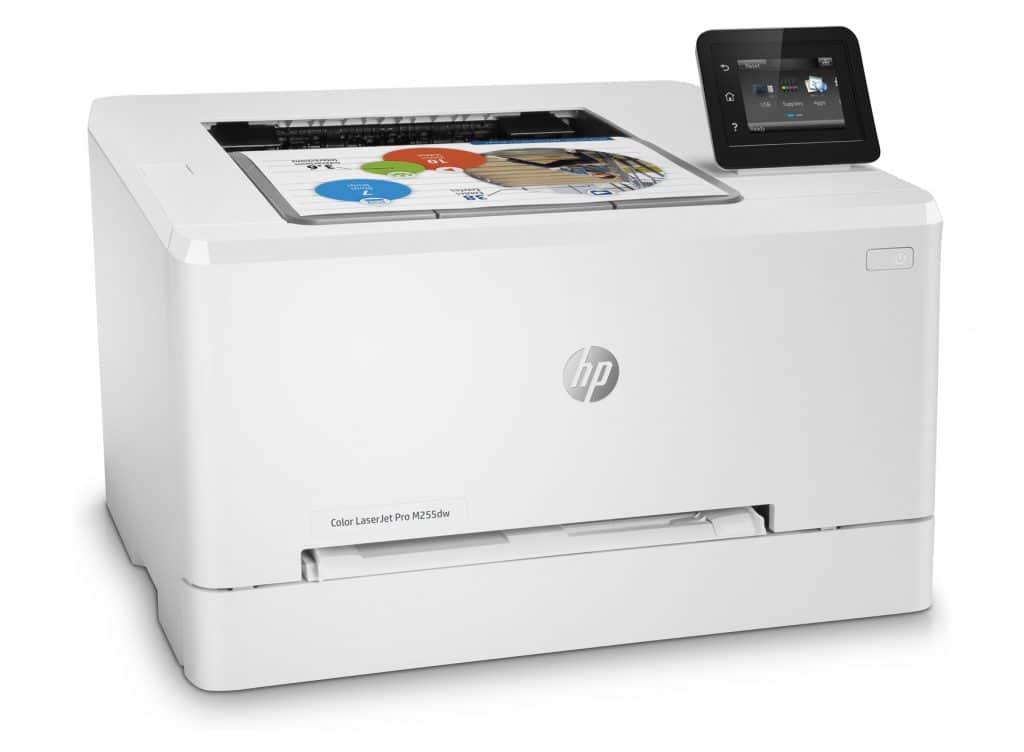 hp color laserjet pro m255dw características