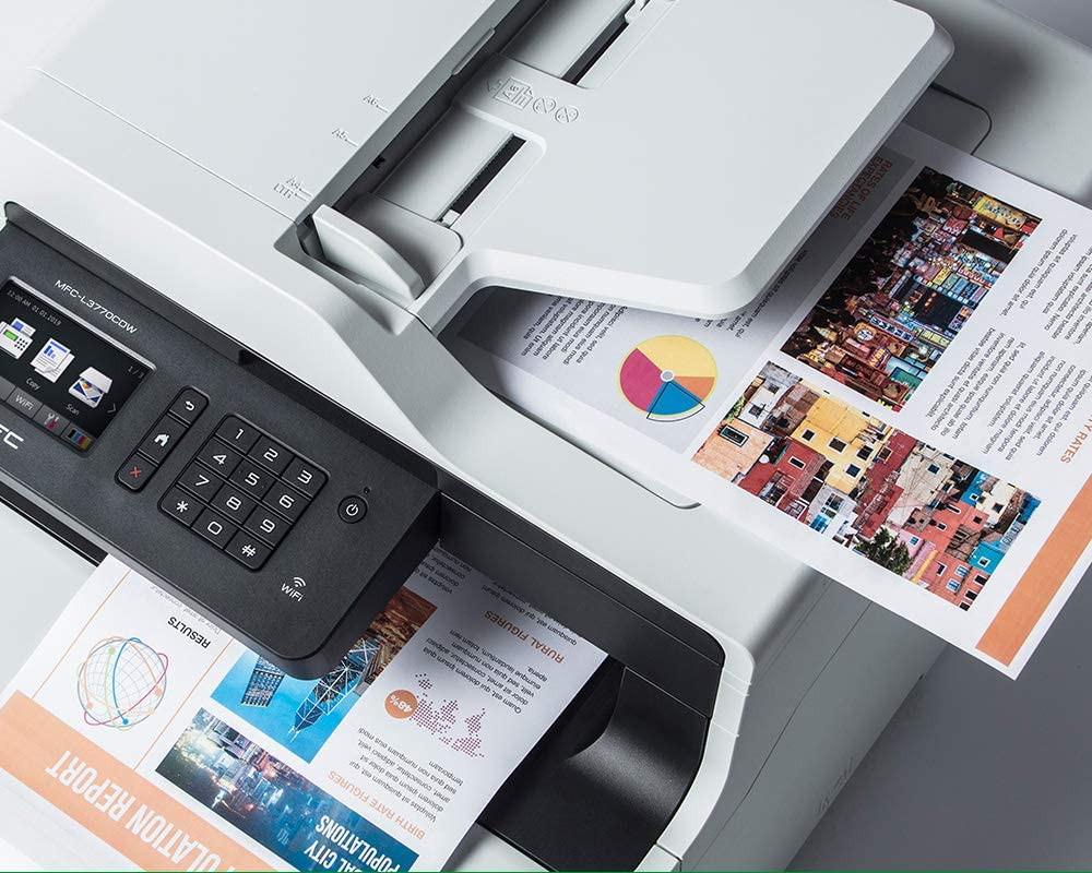 impresora brother mfc l3770 duplex color en todas sus funciones