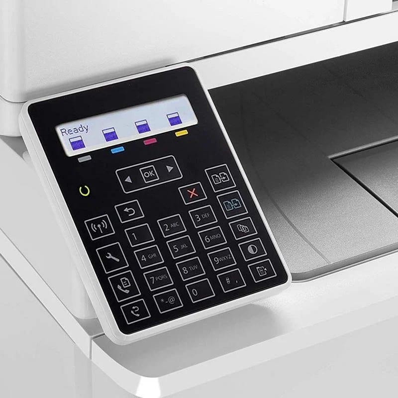 impresora hp color laserjet pro m183fw lcd