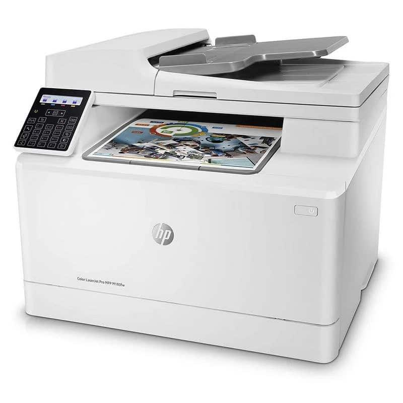 impresora multifunción hp color laserjet pro m183fw fax