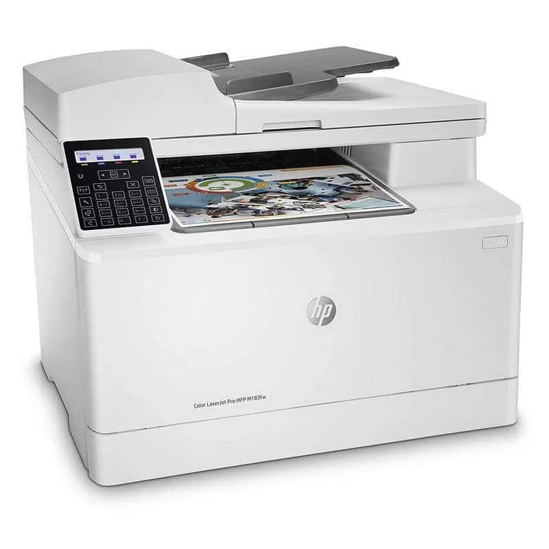 impresora multifunción hp color laserjet pro m183fw