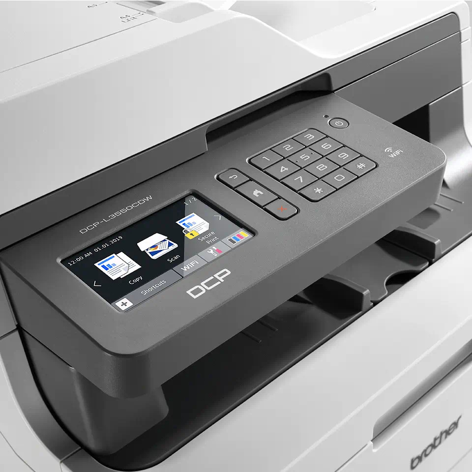 Brother DCP-L3550CDW wifi