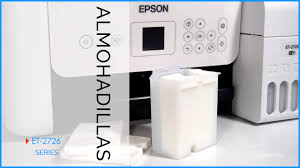 Epson EcoTank ET-2726 almohadillas
