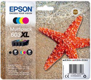 Epson WorkForce WF-2810 DW cartucho 603xl de alto rendimiento estrella de mar