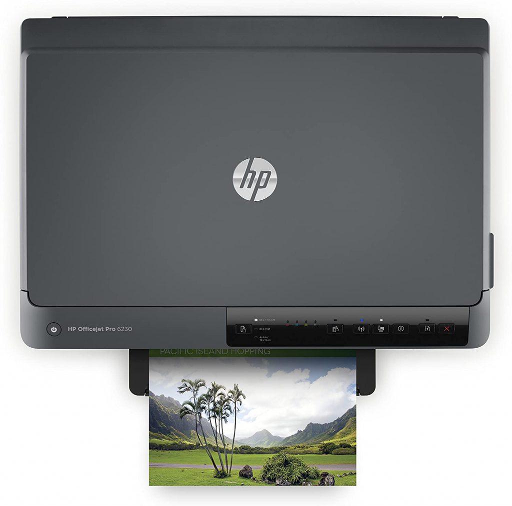 HP officejet Pro 6230 tamaño