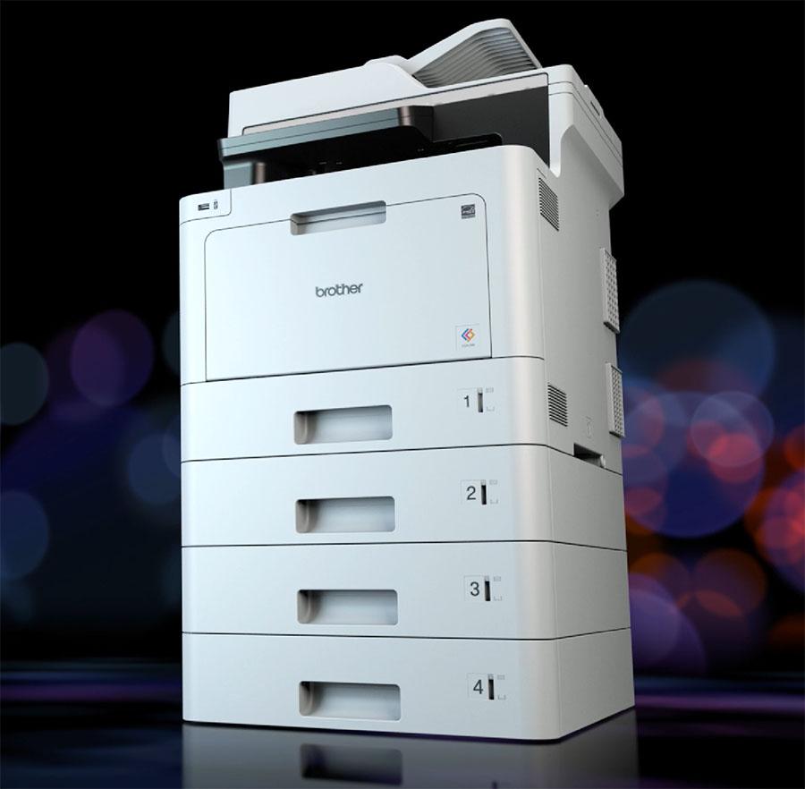 Impresora Brother MFC-L8690CDW bandejas de papel ampliables