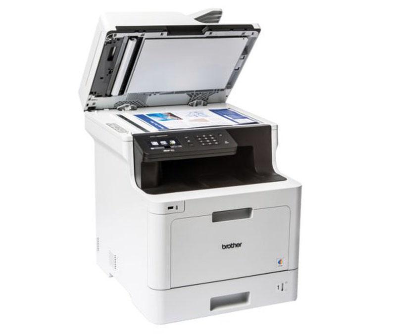 Impresora Brother MFC-L8690CDW escáner cis doble y adf