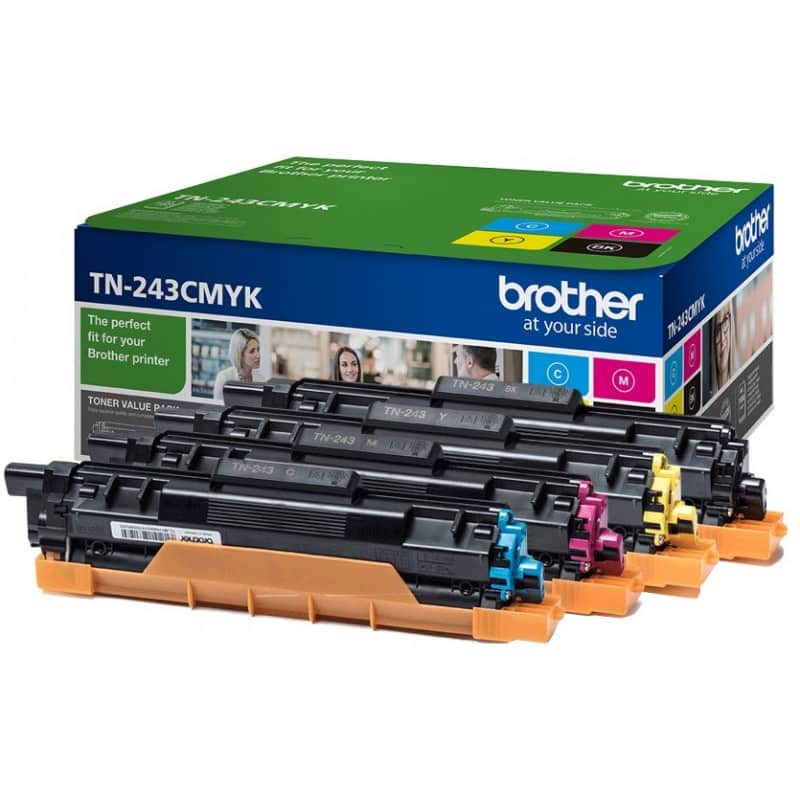 tóner para la impresora Brother DCP-L3550CDW TN243BK