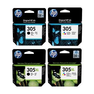 HP 305 y HP 305XL origniales