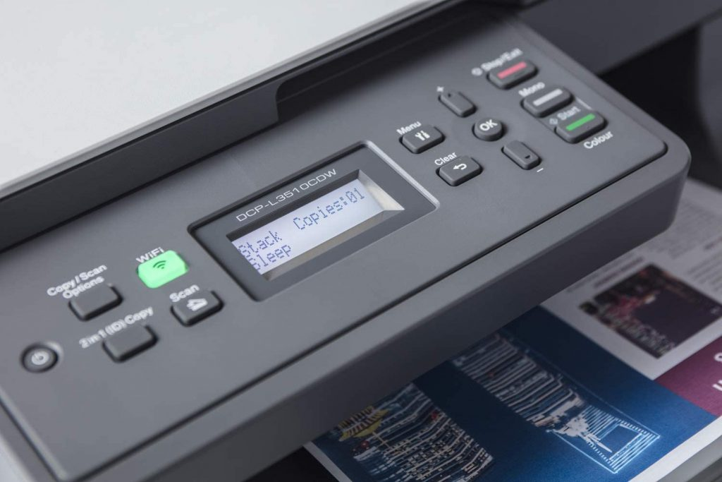 Impresora Brother DCP-L3510CDW para oficina