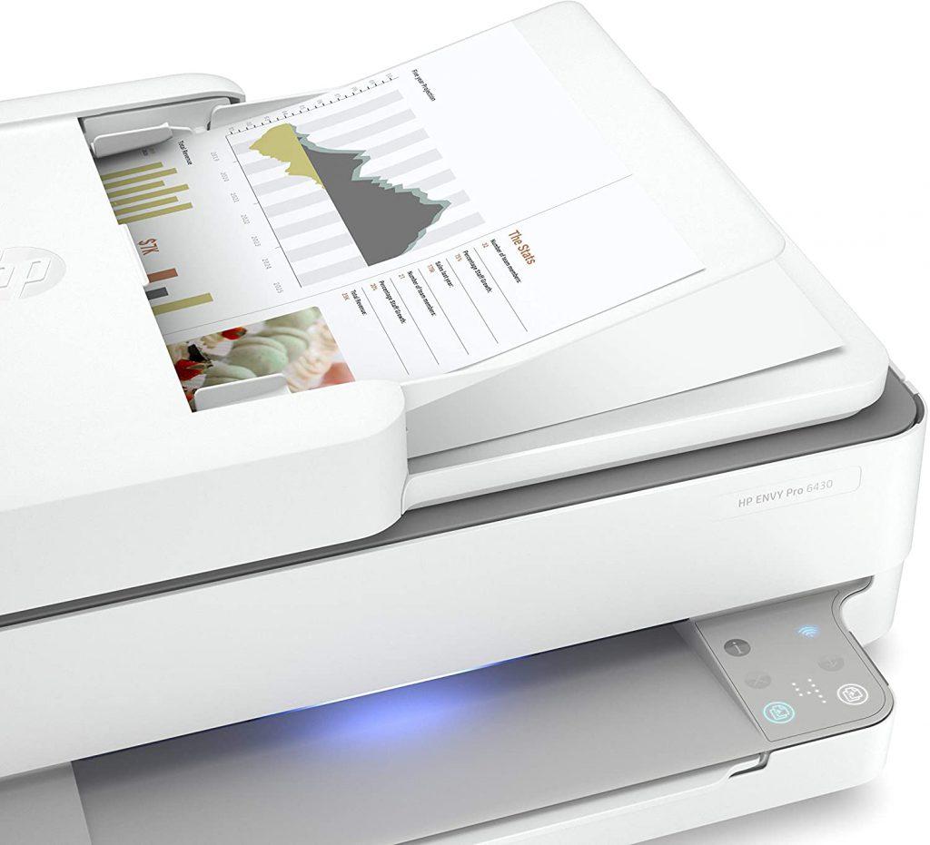 Impresora multifuncion HP Envy Pro 6430 con escáner adf