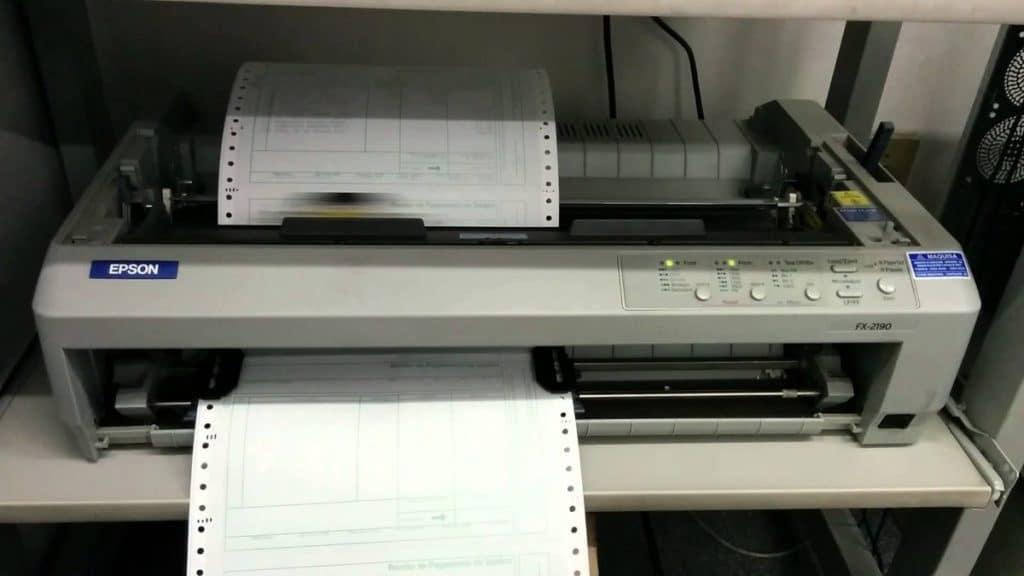 Las mejores impresoras matriciales