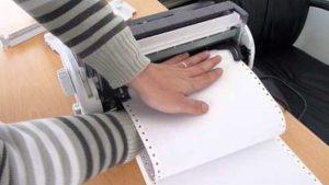 impresora matricial para la oficina