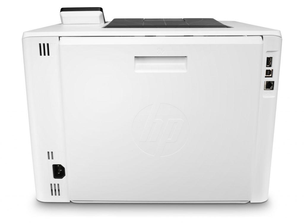 HP Color LaserJet Enterprise M455DN ethernet