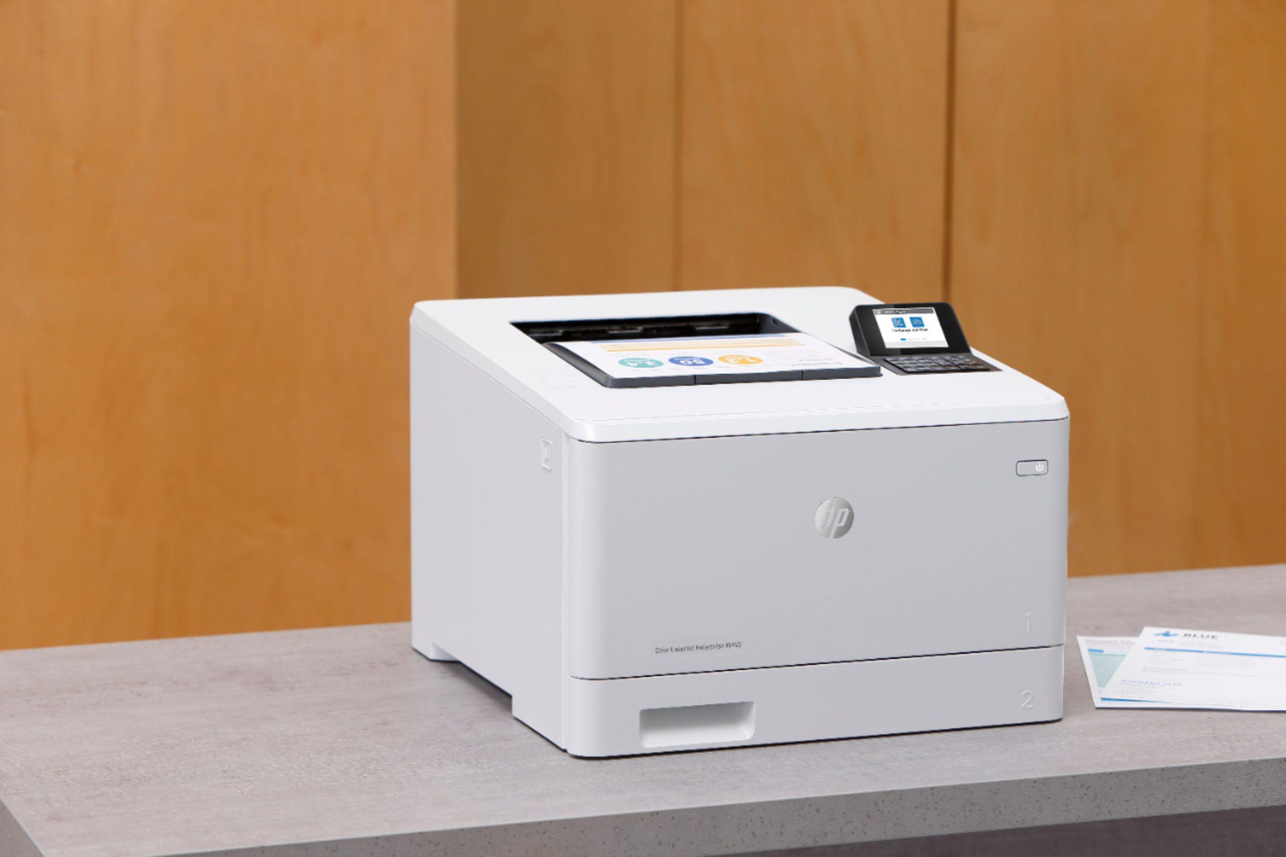 HP Color LaserJet Enterprise M455DN review