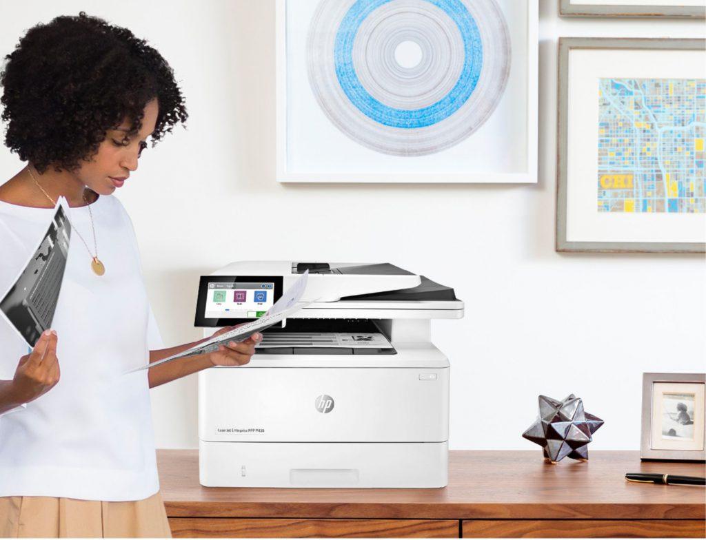 HP Laserjet Enterprise M430f review