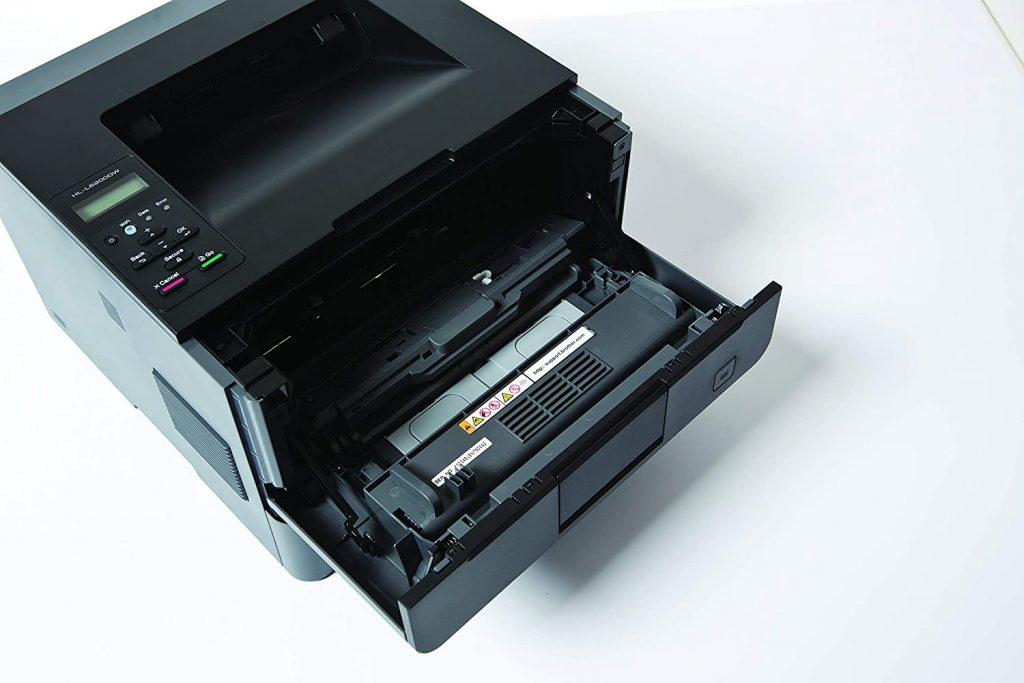 Impresora brother HL L5200DW cambiar toner