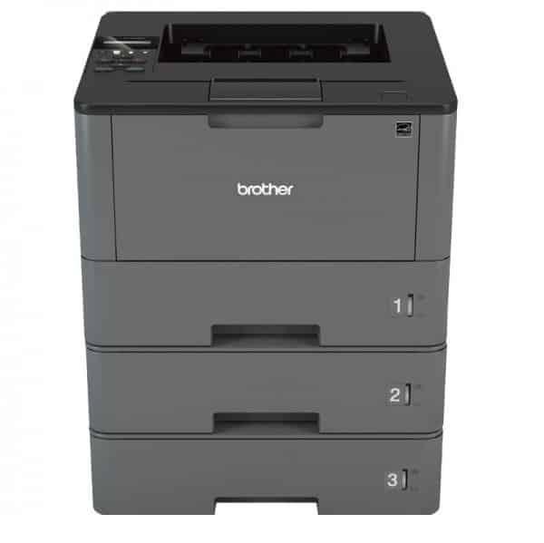 Impresora brother HL L5200DW con tres bandejas de papel