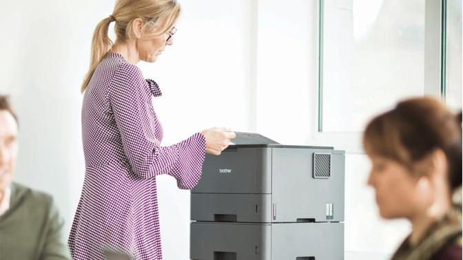 Análisis de Brother HL-L5200DW impresora láser monocromo
