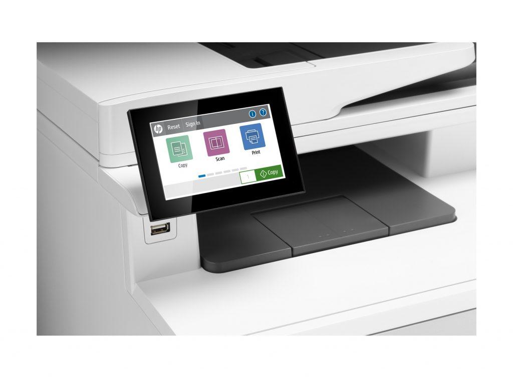 HP Color LaserJet Enterprise M480f 27 ppm de velocidad de impresion