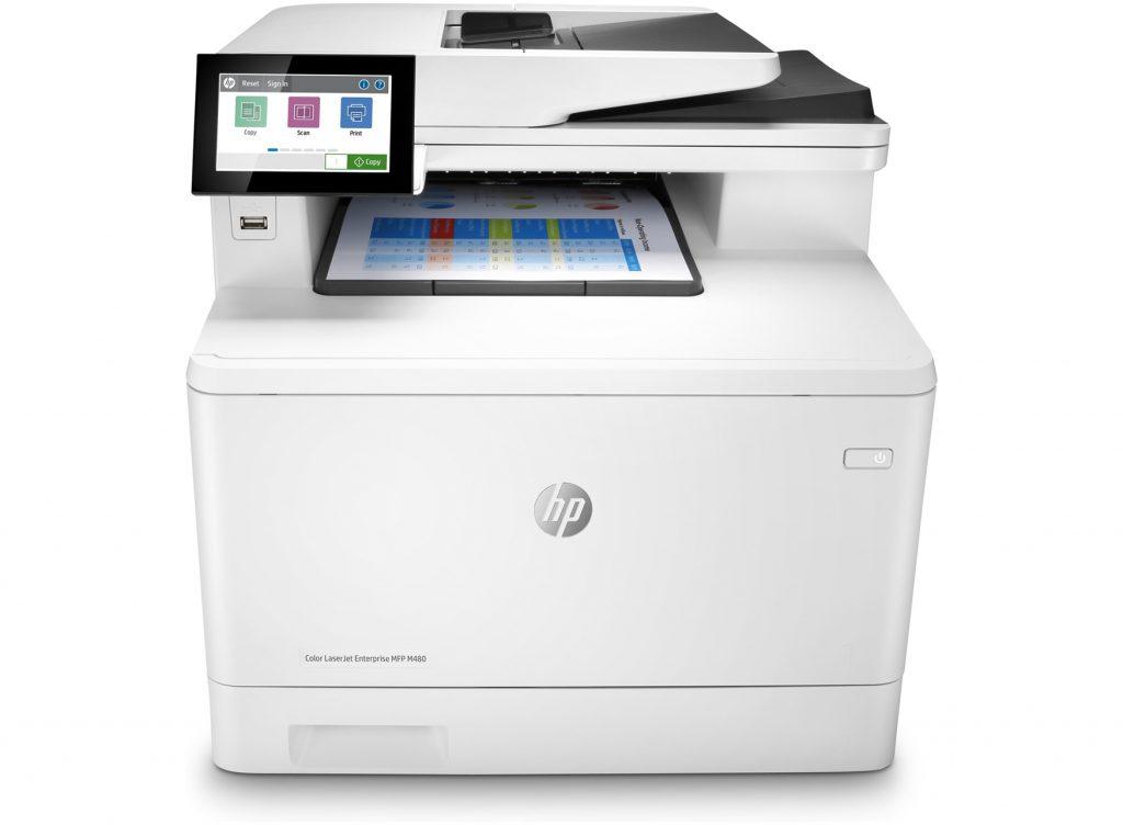 HP Color LaserJet Enterprise M480f con toner hp