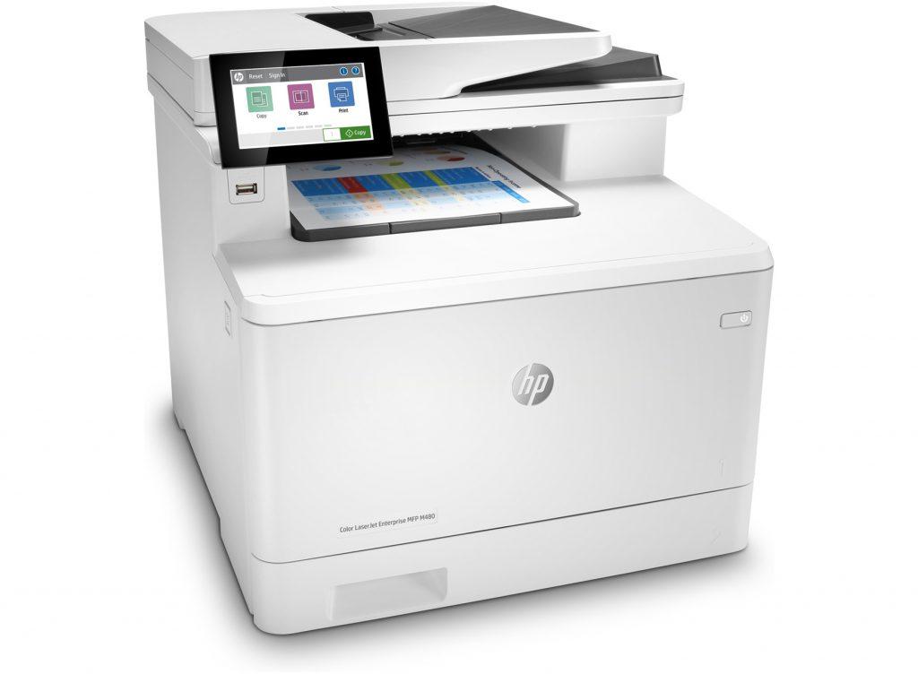 HP Color LaserJet Enterprise M480f impresora